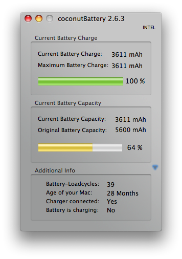 Another MacBook Pro battery is dying